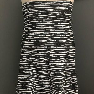 LuLaRoe pixilated zebra Cassie skirt